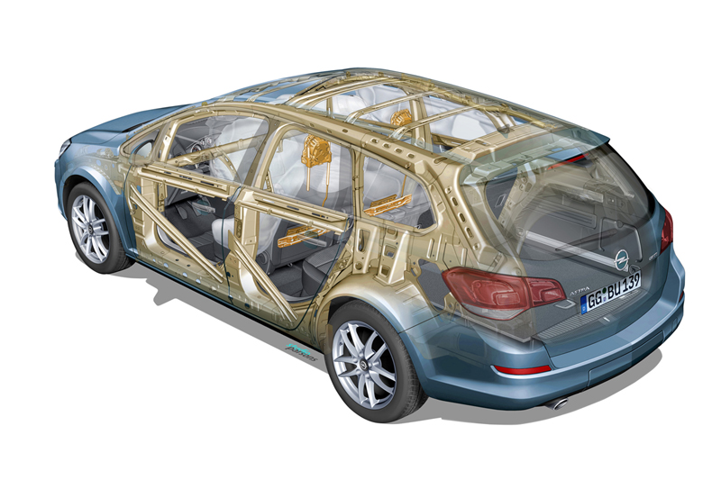 Foto Tecnicas-(7) Opel Astra-st Familiar 2010