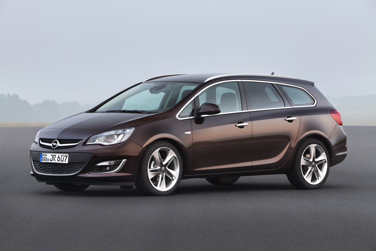 Fondo Pantalla Opel Astra-st Familiar 2012 Perfil