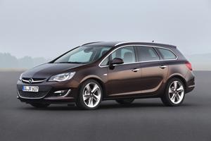 Foto Perfil Opel Astra-st Familiar 2012