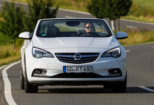 Foto Delantera Opel Cabrio-turbo Descapotable 2013