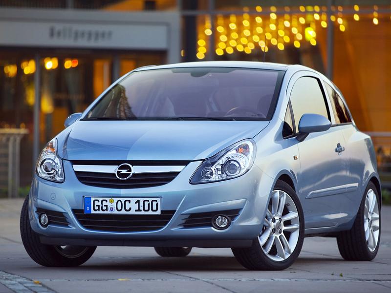 Foto Delantero Opel Corsa Dos Volumenes 2009