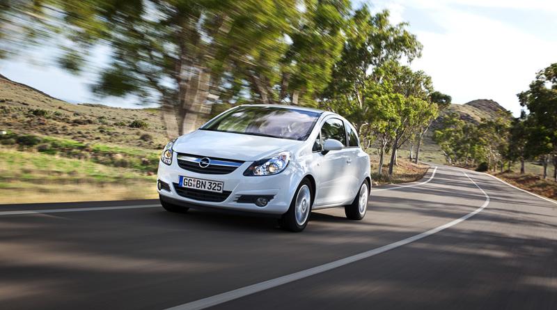Nuevo Opel Corsa ecoFLEX 2012