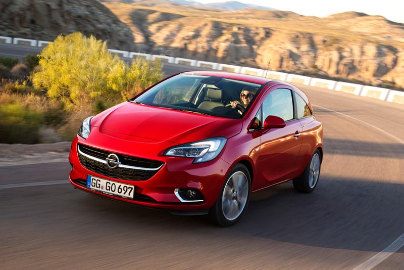 Foto Perfil Opel Corsa Dos Volumenes 2014