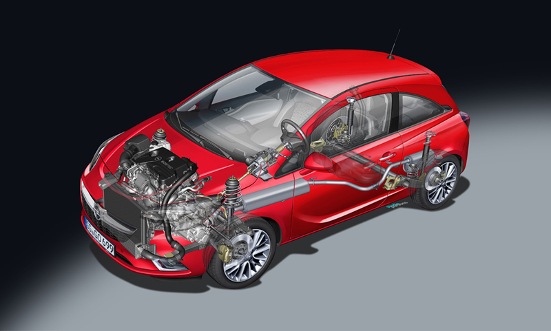 Foto Tecnicas Opel Corsa Dos Volumenes 2014