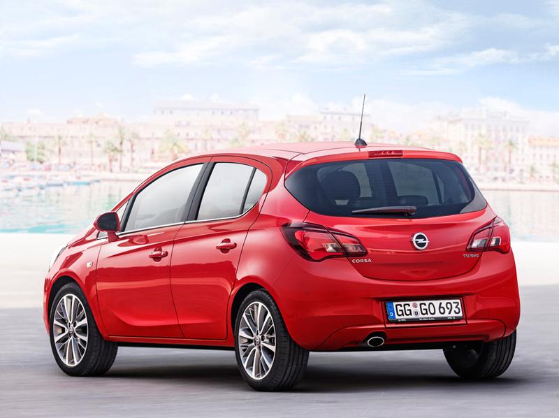 Foto Trasera Opel Corsa Dos Volumenes 2014