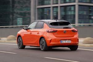 Foto Trasera Opel Corsa-e Dos Volumenes 2020