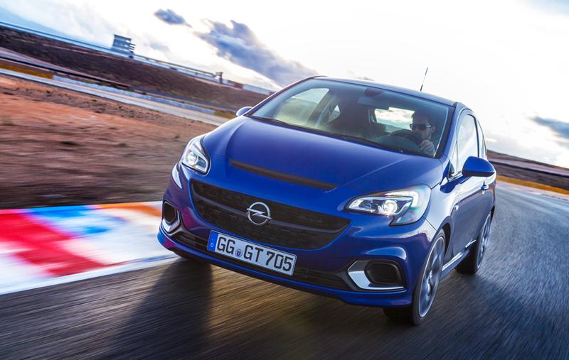 Foto Delantera Opel Corsa Opc Dos Volumenes 2015
