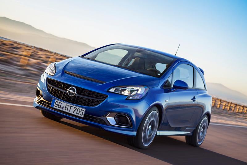 Foto Perfil Opel Corsa Opc Dos Volumenes 2015