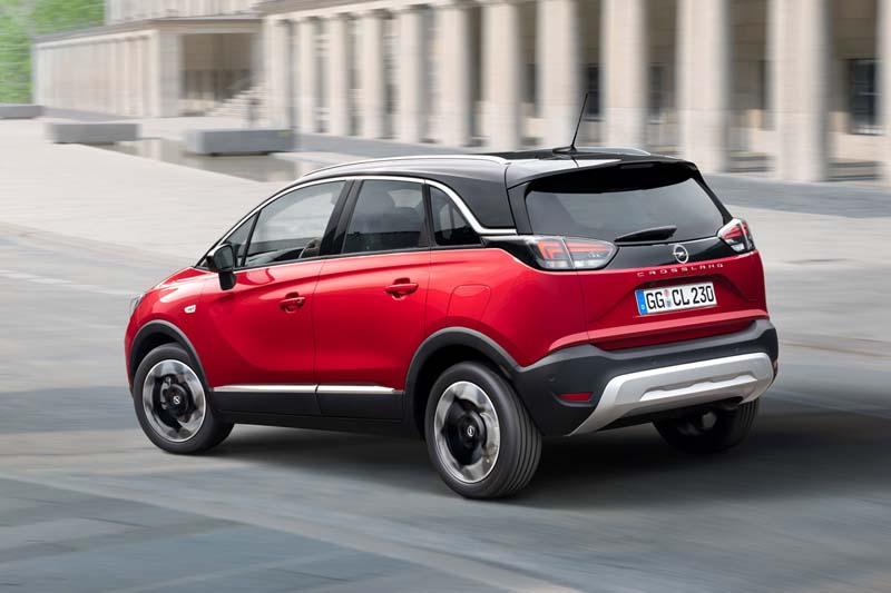 Foto Trasera Opel Crossland Suv Todocamino 2020