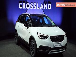 Foto Delantera Opel Crossland-x-presentacion Suv Todocamino 2017