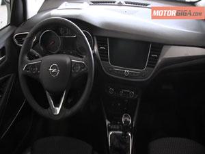 Foto Salpicadero Opel Crossland-x-presentacion Suv Todocamino 2017