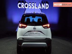 Foto Trasera Opel Crossland-x-presentacion Suv Todocamino 2017