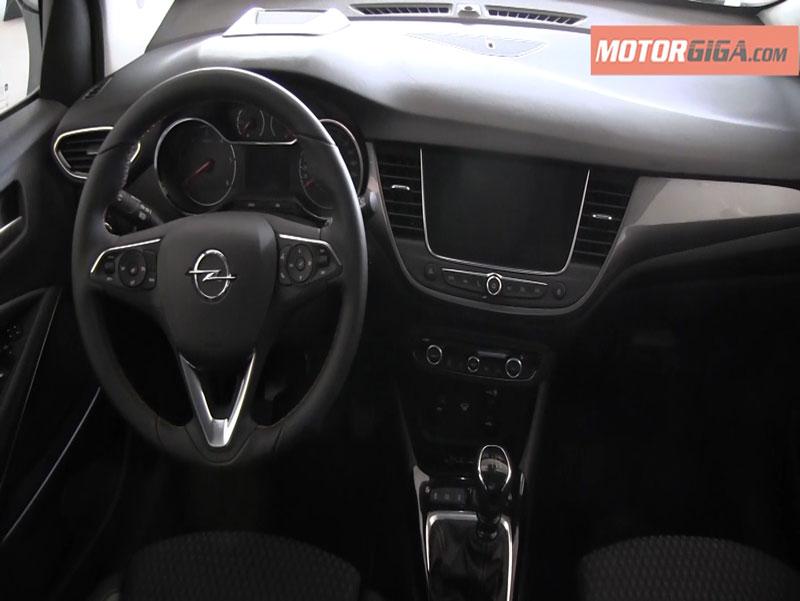 Foto Salpicadero Opel Crossland X Presentacion Suv Todocamino 2017