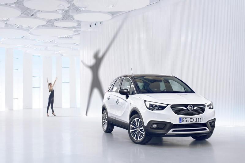 Foto Delantera Opel Crossland X Suv Todocamino 2017