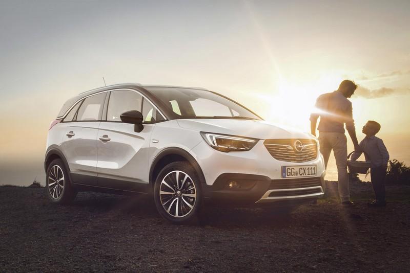 Foto Exteriores Opel Crossland X Suv Todocamino 2017