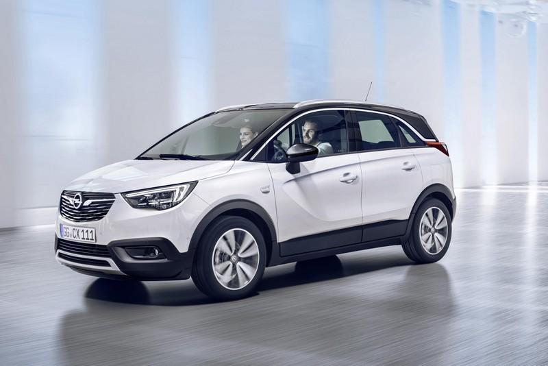 Opel Crossland X foto delantera
