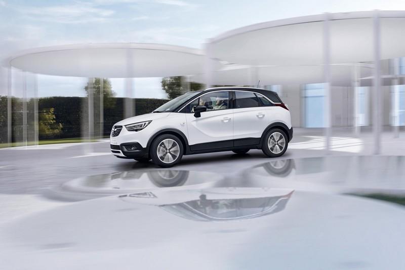 Foto Exteriores Opel Crossland-x Suv Todocamino 2017