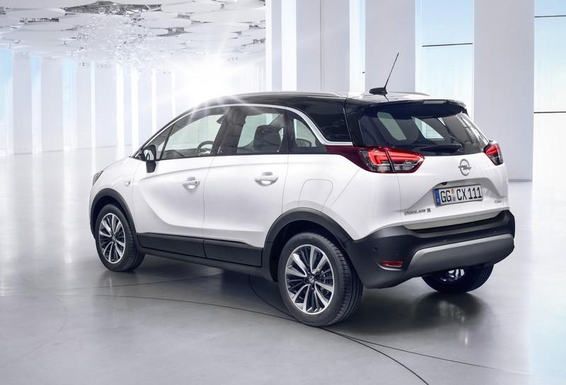 Foto Trasera Opel Crossland X Suv Todocamino 2017