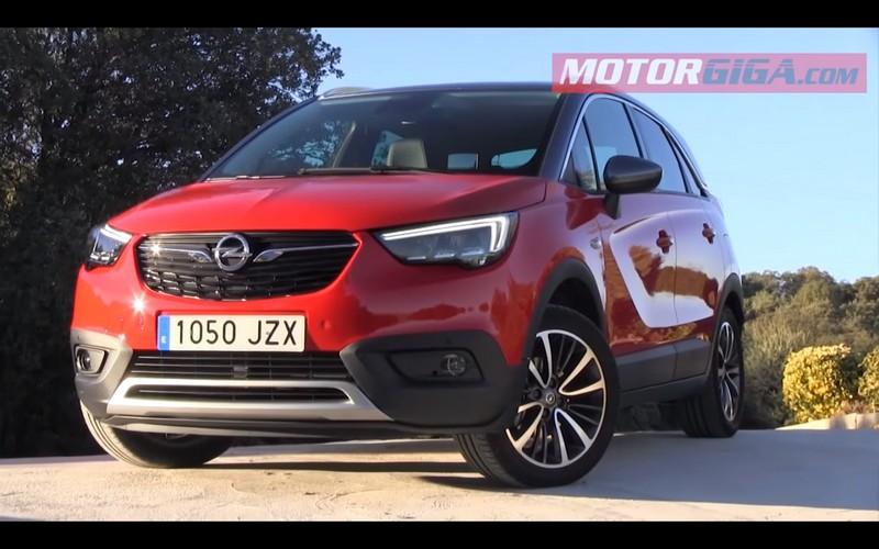Foto Exteriores Opel Crossland X Prueba Suv Todocamino 2017