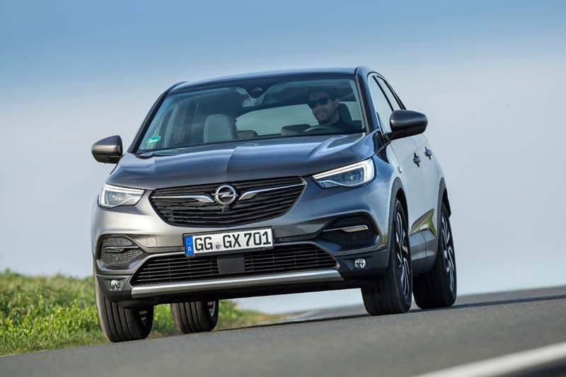 Opel Grandland X, foto delantera