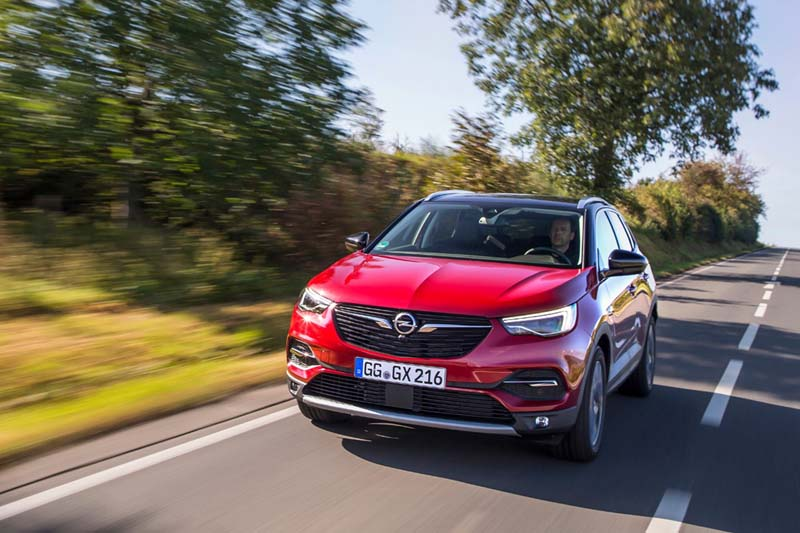 Foto Exteriores Opel Grandland X Suv Todocamino 2017