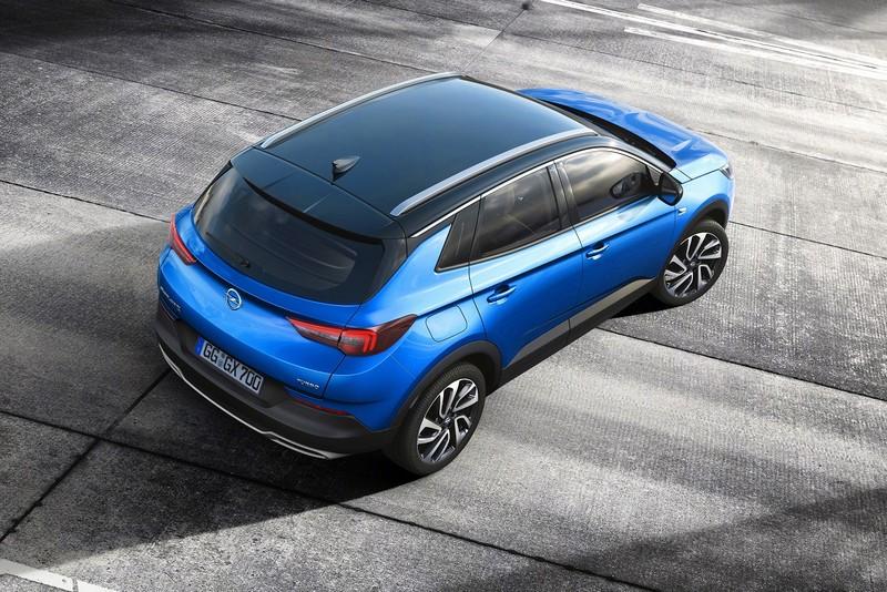 Opel Grandland x trasera