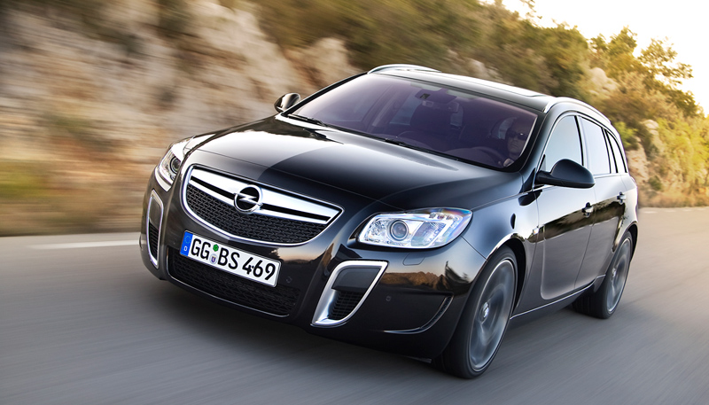 Foto Exteriores Opel Insignia Familiar 2010
