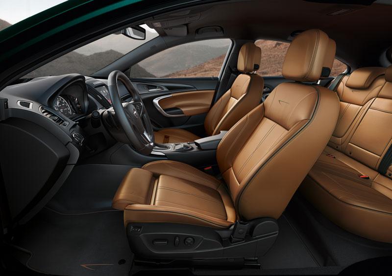 Foto Interiores Opel Insignia Familiar 2013