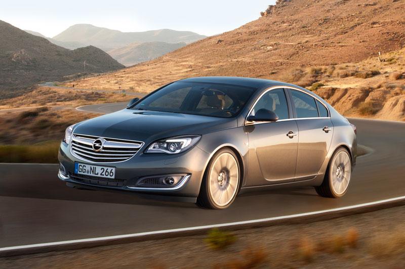 Opel Insignia en el Salón de Frankfurt 2013