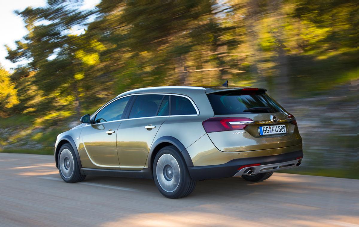 Fondo Pantalla Opel Insignia-country-tourer Suv Monovolumen 2013 Trasera