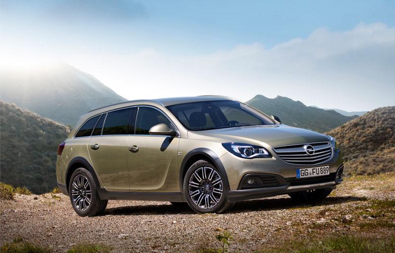 Foto Delantera Opel Insignia Country Tourer Suv Monovolumen 2013