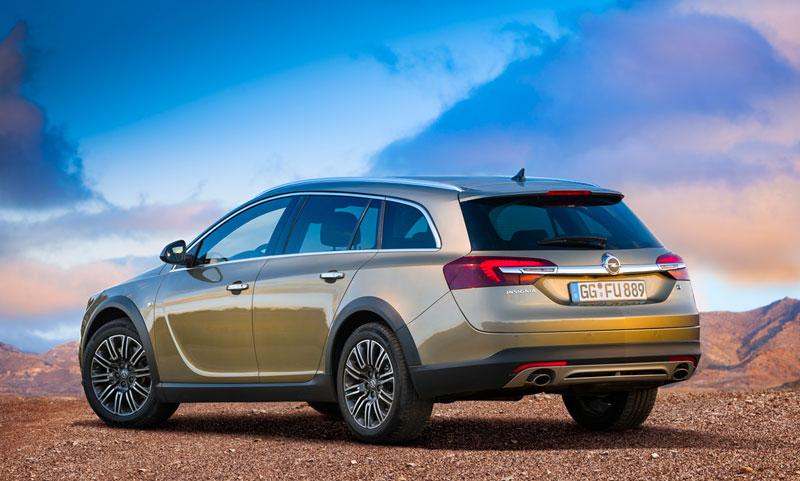 Foto Exteriores Opel Insignia Country Tourer Suv Monovolumen 2013