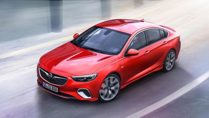 Foto Delantera Opel Insignia Gsi Dos Volumenes 2017