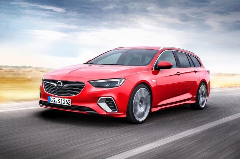 Foto Delantera Opel Insignia Gsi Sports Tourer Familiar 2017