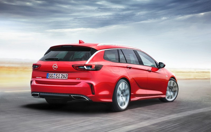 Foto Exteriores Opel Insignia Gsi Sports Tourer Familiar 2017