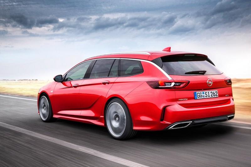 Foto Trasera Opel Insignia Gsi Sports Tourer Familiar 2017