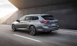 Foto Trasera Opel Insignia-sports-tourer Familiar 2017