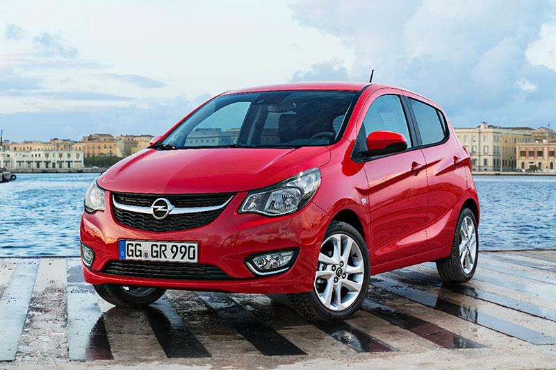 Foto Delantera Opel Karl Dos Volumenes 2014