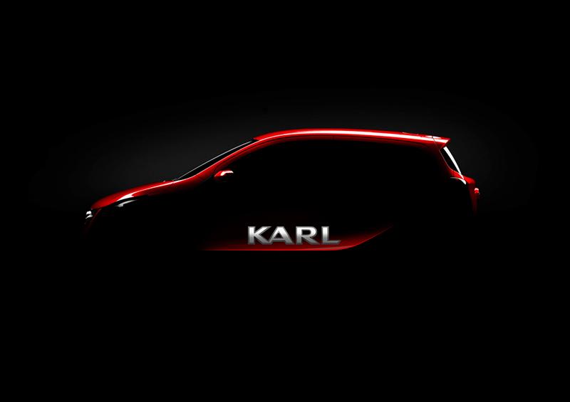 Opel Karl 2014