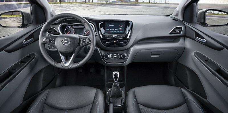 Foto Salpicadero Opel Karl Dos Volumenes 2014