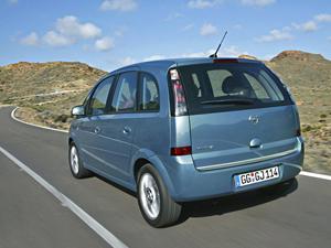 Foto Trasero Opel Meriva Monovolumen 2009