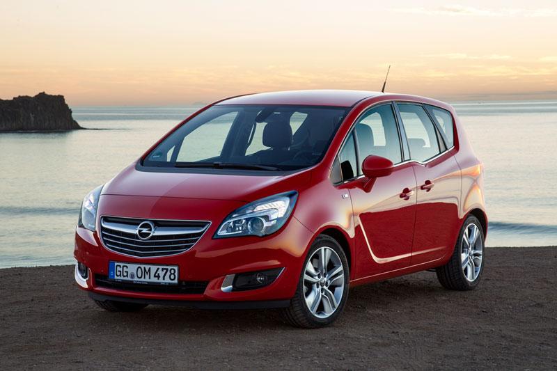 Foto Delantera Opel Meriva Monovolumen 2014
