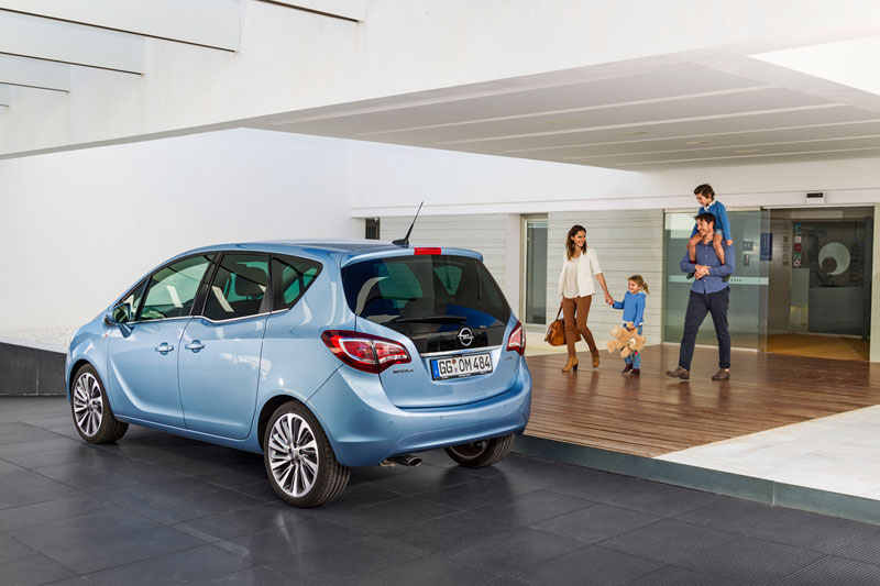 Foto Exteriores Opel Meriva Monovolumen 2014