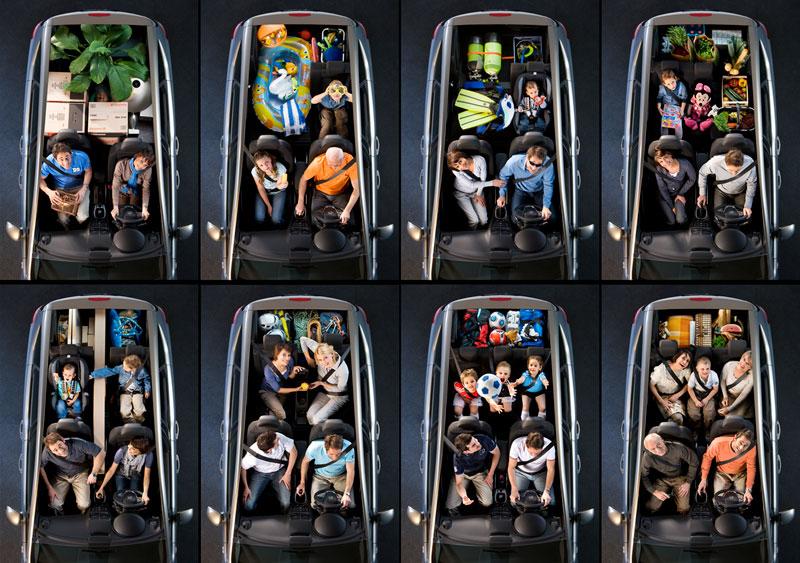 Foto Interiores Opel Meriva Monovolumen 2014