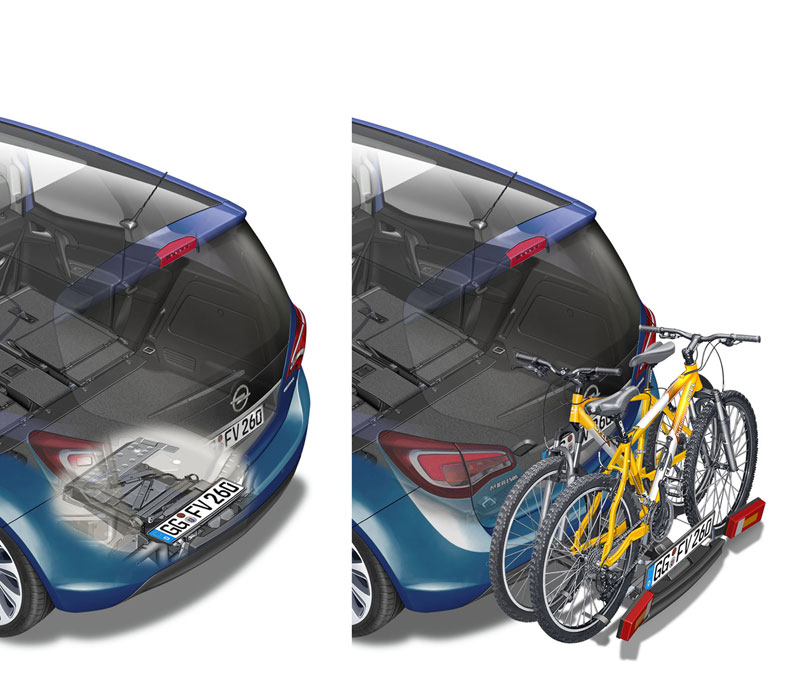 Foto Tecnicas Opel Meriva Monovolumen 2014