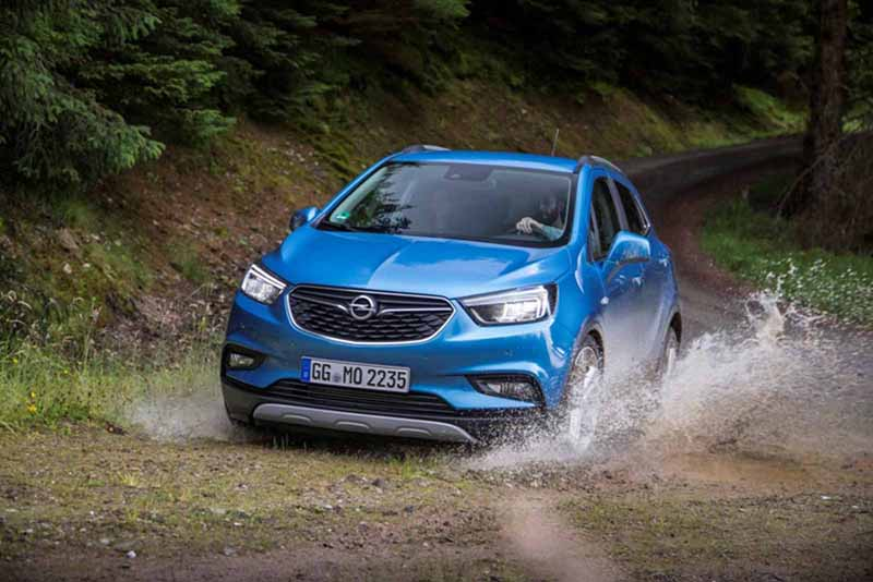 Foto Exteriores Opel Mokka X Suv Todocamino 2016