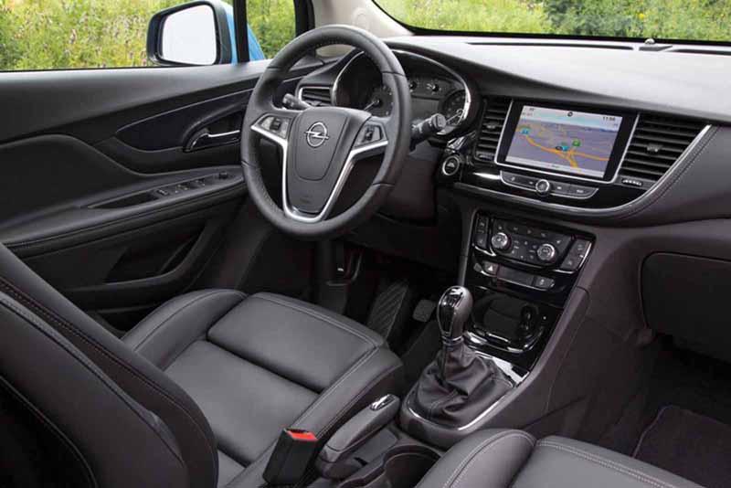 Foto Interiores Opel Mokka X Suv Todocamino 2016