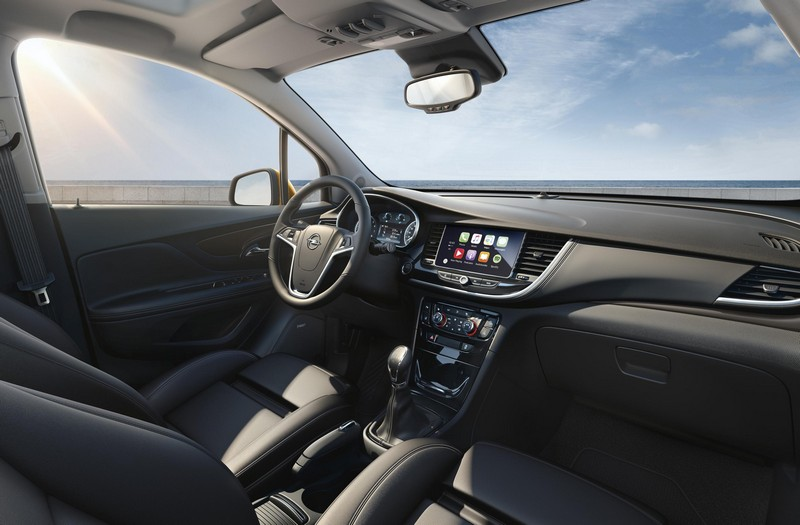 Foto Salpicadero Opel Mokka X Suv Todocamino 2016