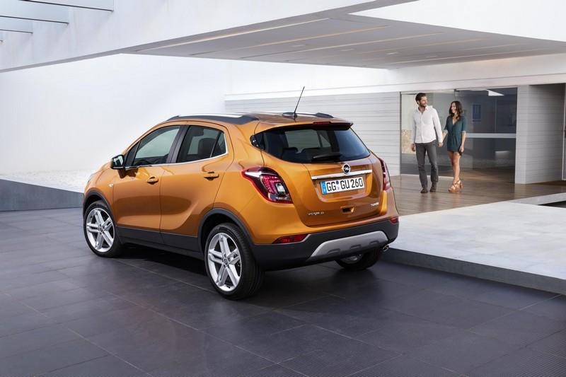 Opel Mokka X foto trasera