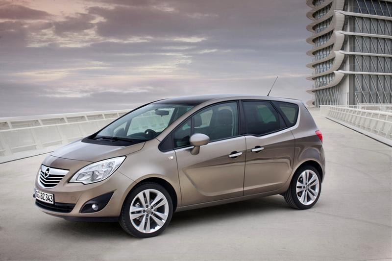 Foto Delantero Opel Nuevo Meriva Monovolumen 2010